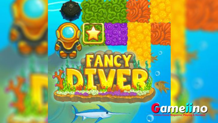 Fancy Diver is an underwater world for a Match 3 game! - Gameiino