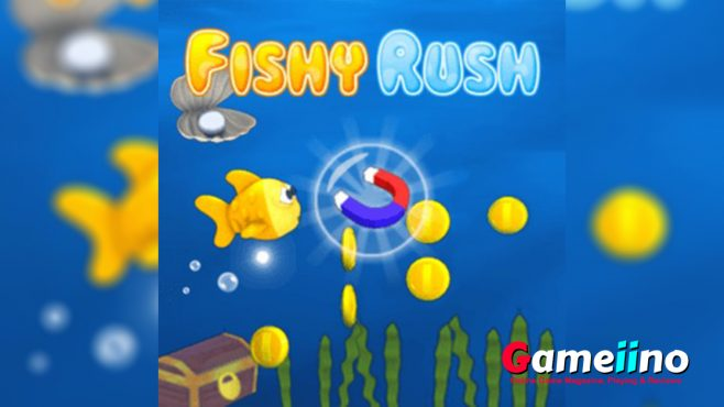 fish rush underwater adventure game is a cool fishing game free. And the action game is a full of fun element to make your leisure time more enjoyable. - image - Gameiino.com