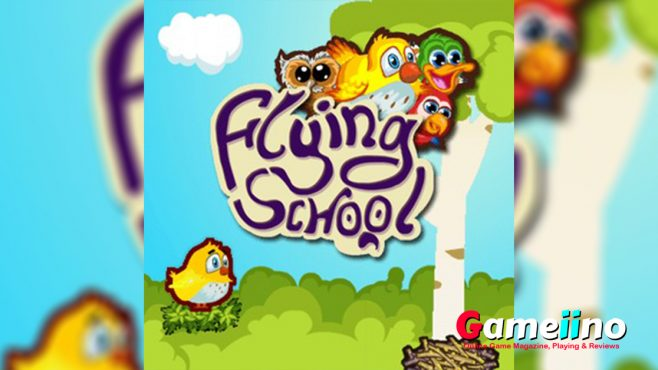 Flying School Teaser In Flying School you need to help cute birds learn to fly - Image - Gameiino