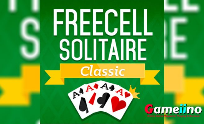 Free CellSolitaire Classic Teaser In this popular Solitaire version, your task is to move all of the 52 cards to the four foundation spots to win, beginning with the Aces - image - Gameiino.com