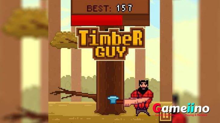 Use the be axe and collect dry firewood in the wonderful wood cutting games timber guy. The arcade game is full of fun and mind refreshment. - Gameiino.com