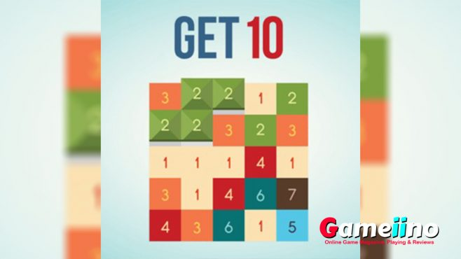 Get 10 Teaser Objective of this addictive puzzle game is to combine adjacent numbers - image - Gameiino.com