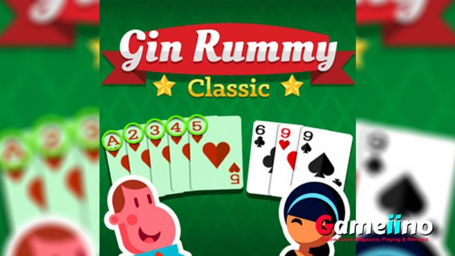 Gin Rummy Classic Teaser Test your Gin Rummy skills in this fun version of the popular two-player card game! - image - Gameiino.com