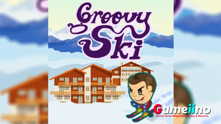Groovy Ski Teaser Ski down the course in high speed in our new game Groovy Ski - image - Gameiino