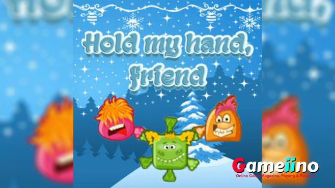 Hold My Hand Friend Teaser The best way to stay warm in winter is to hold hands! - Image - Gameiino