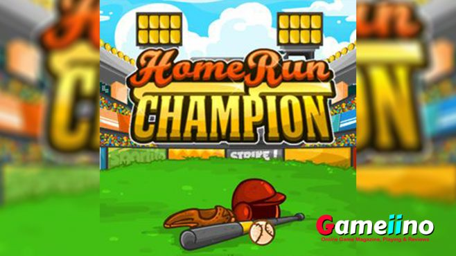 Home Run Champion Teaser Prove your baseball skills in three different leagues against 24 teams - image - Gameiino.com