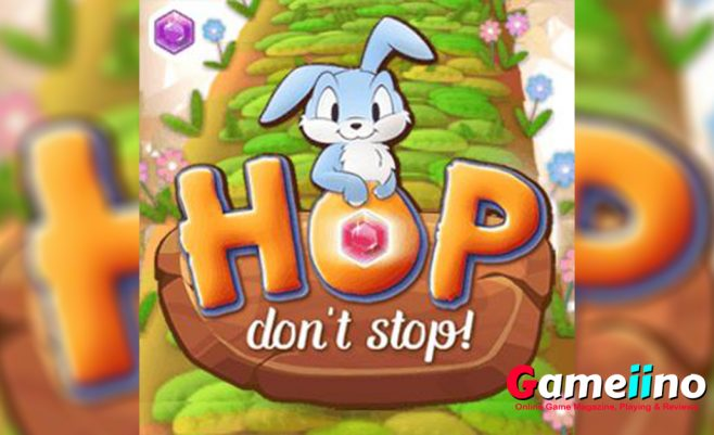 Hop Dont Stop Teaser That sounds like Hop don't Stop an addicting skill game full of diamonds, power ups and of course many obstacles and abysses - image - Gameiino.com