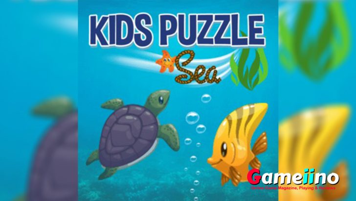 Kids Puzzle Sea Teaser Go on a puzzle adventure and discover an exciting underwater world! Drag and drop the animals onto the matching silhouettes in the picture - image - Gameiino