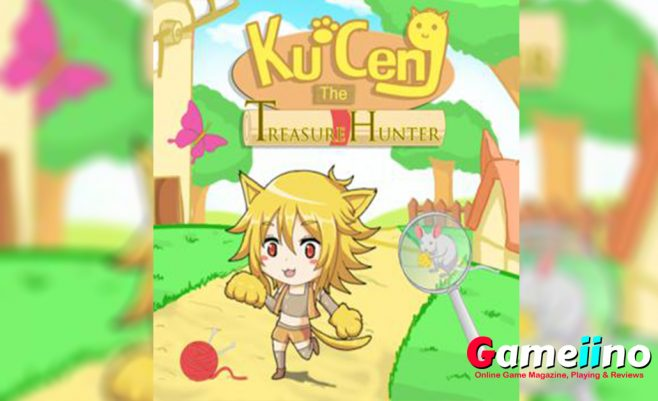 Kuceng The Treasure Hunter Teaser Join Kuceng on an exciting treasure hunt in this cute hidden object game! - image - Gameiino