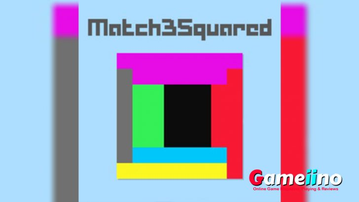 Match 3 Squared Teaser Minimalist and addictive! Objective in this Match3 game with a twist is to match at least 3 same-colored blocks on the same side of the square. - image - Gameiino.com