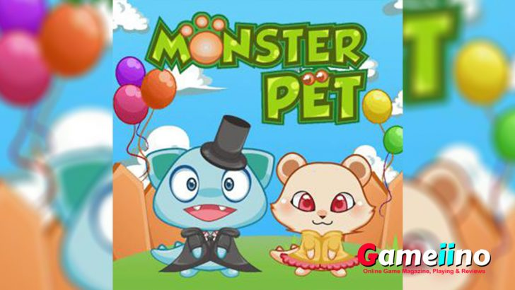 Monster Pet Teaser Adopt your very own monster! This virtual pet game is fun for all ages - image - Gameiino