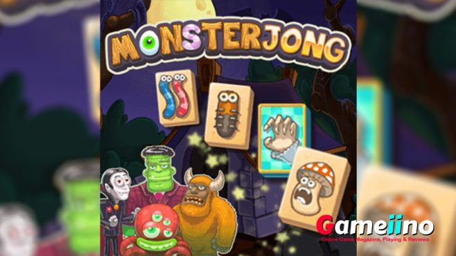 Let's Play Cute Halloween Version of the Classic Board Game Mahjong! - Gameiino