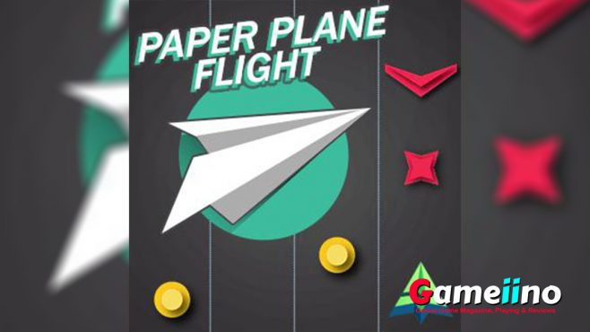 Paper Plane Flight Teaser In this addicting arcade game you take control of a paper plane - image - Gameiino.com