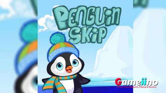 help little Penguin to jump from floe to floe! - Gameiino