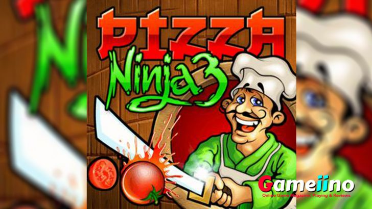 Pizza ingredients juggling through the air - ninja slicing skills needed! - Gameiino
