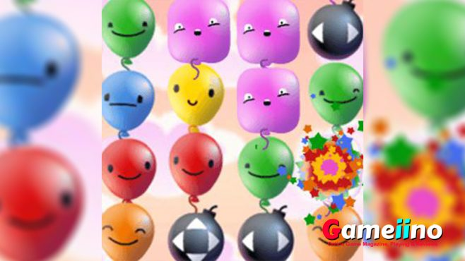 Pop Pop Rush Teaser Let's pop some bloons! In Pop Pop Rush you need to be quick and smart - image - Gameiino