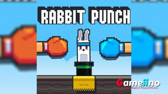 Love rabbits! Play our Cool Rabbit punch game to punch on the face of the cute rabbits character. But don't worry as this rabbit is strong enough. - image - Gameiino.com