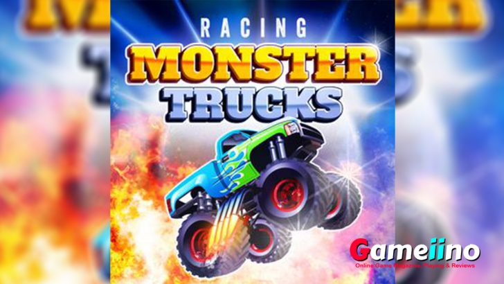Racing Monster Trucks Teaser Rev up your engine and leave your competitors in the dust in this thrilling monster truck racing game! - image - Gameiino.com