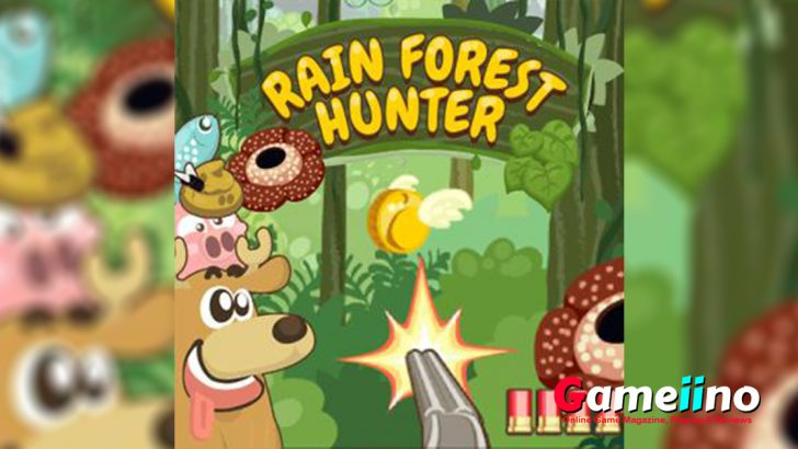 Shoot em up rain forest hunting is an amazing and cool gameplay is now available on our site for free!! Make your first shoot for a precious hunt - image - Gameiino.com
