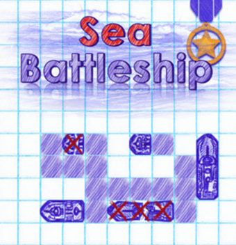 Sea Battleship All hands and the cook on deck! Load the cannons and sink all enemy ships in this addictive notepad-style version of the classic Battleship board game - image - Gameiino.com