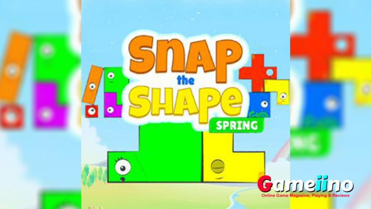 The Shape Spring Teaser In this colorful puzzle game your task is to fill different patterns with pieces - image - Gameiino