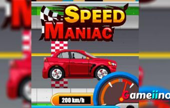 In Speed Maniac an exciting neck-and-neck race is awaiting you