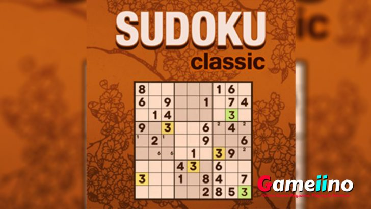 Sudoku Classic Teaser Help your brain stay healthy with Sudoku! In this fun logic puzzle your task is to fill the 9x9 grid with numbers - image -Gameiino.com