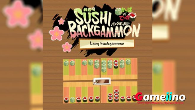 Backgammon rules are easy and enjoyable for you when you play so often with the sushi backgammon board games. so play and enjoy lovely backgammon set. - image - Gameiino.com
