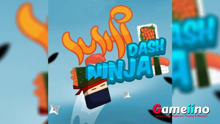 Sushi Ninja Dash Teaser Train your reflexes in this addicting skill game! Jump with cute ninjas from wall to wall - image - Gameiino.com