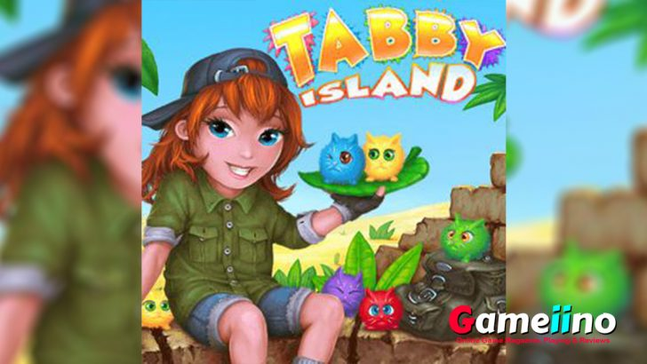 Tabby Island Teaser Meow! In this adorable match3 game your task is to combine as many cute little kittens as possible - image - Gameiino