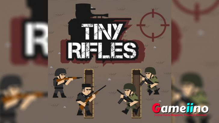 With tiny rifles and the small soldiers in the enemy front to play the strategic war game, you can create such a devastating impression to enjoy. - image - Gameiino.com