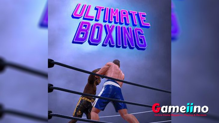 Ultimate Boxing Teaser In Ultimate Boxing awaits you a hard fight. Choose one of two glorious boxers and get in the ring - image - Gameiino