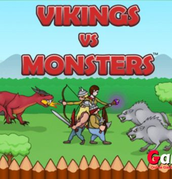 Keep Viking Village Safe From Monsters! - Gameiino