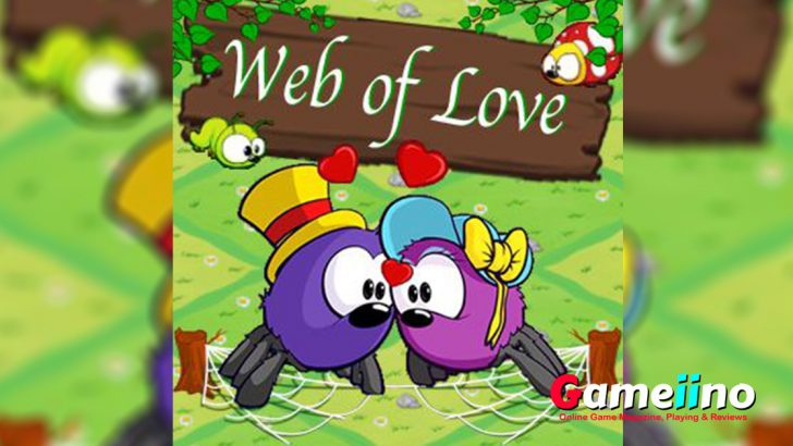 In this cute puzzle game you need to help two spiders who are madly in love, but got separated from each other