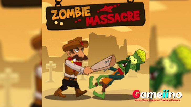 zombie massacre the wild west action game is now fully free to play online for you. Take your chance and beat down dead walkers in the fighting game. - image - Gameiino.com