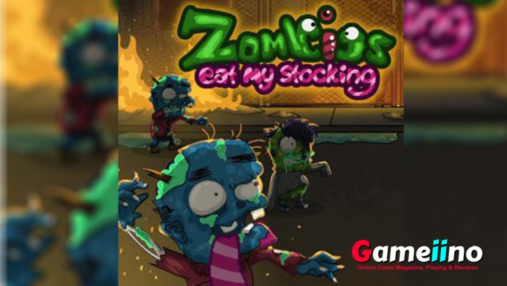 Oh no! The Evil creatures zombie bosses Apocalypse has started and those evil creatures like nothing more than eating your...stockings! Defend yourself. - image - Gameiino.com