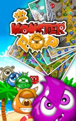 monster Crush Match 3 Cover image - Gameiino